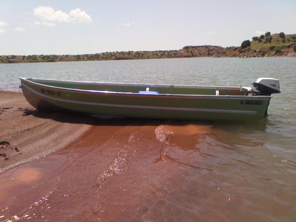 for sale 14 foot aluminum fishing boat