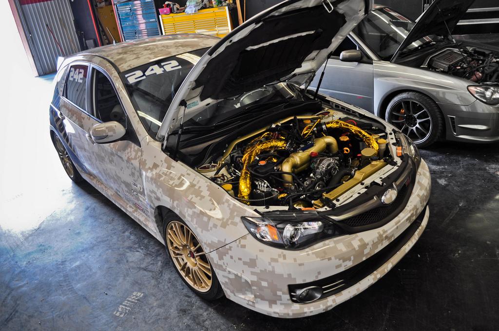 For Sale 2008 Subaru Wrx Sti Digital Camo Race Car Truestreetcars Com
