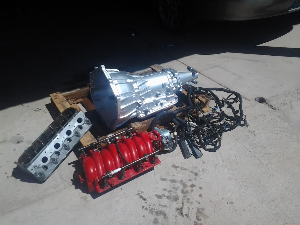 4l60e Transmission For Sale >> For Sale Ls1 Parts And 4l60e Transmission Truestreetcars Com