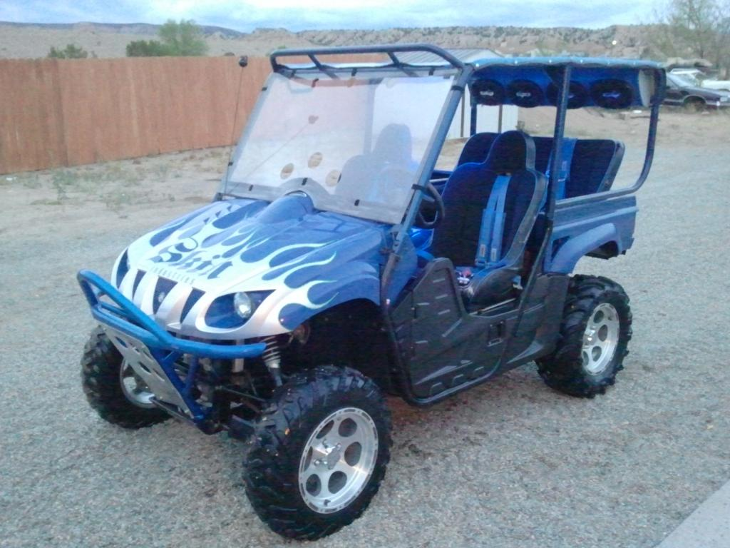 Used yamaha rhino 4 seater for sale autos post for Yamaha grizzly 1000cc