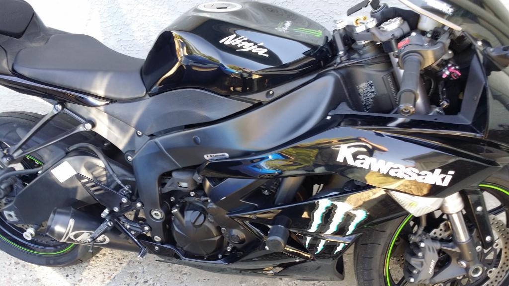 For Sale 2009 Kawasaki Ninja Zx6r Monster Edition