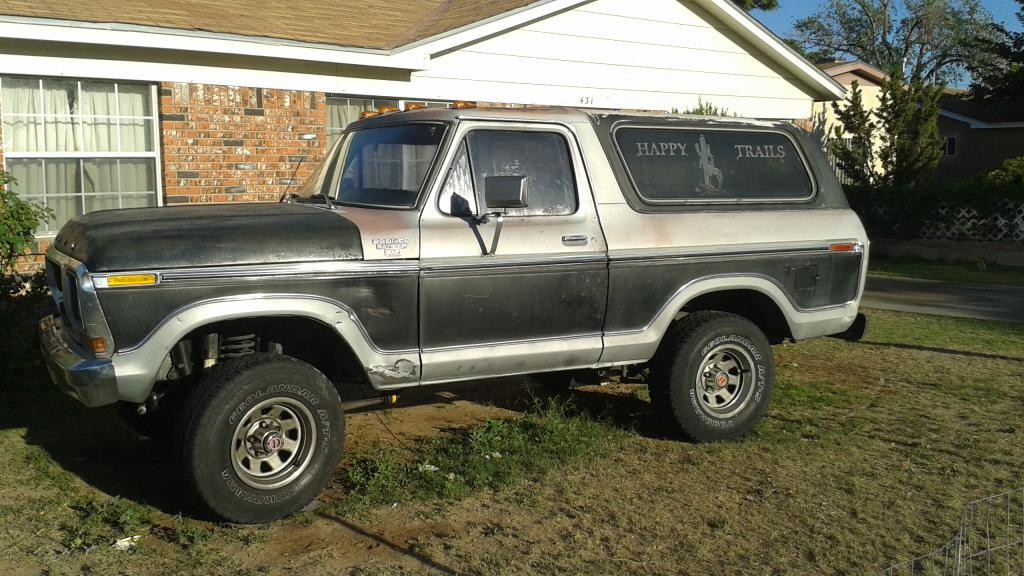 for sale 1978 ford bronco xlt roller only. Cars Review. Best American Auto & Cars Review