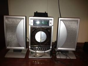 For Sale Sharper Image Stereo With Ipod Dock Truestreetcarscom