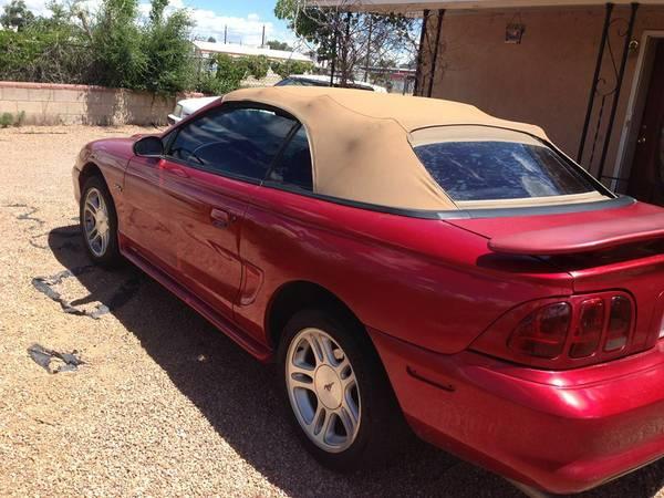 For Sale 1996 Mustang GT Convertible  TrueStreetCarscom