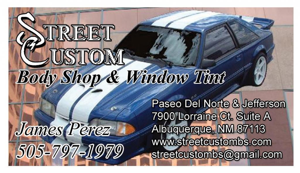 NEW VENDOR!!!!!! Street Custom Body Shop and Tint!!!!!Updated Tint ...
