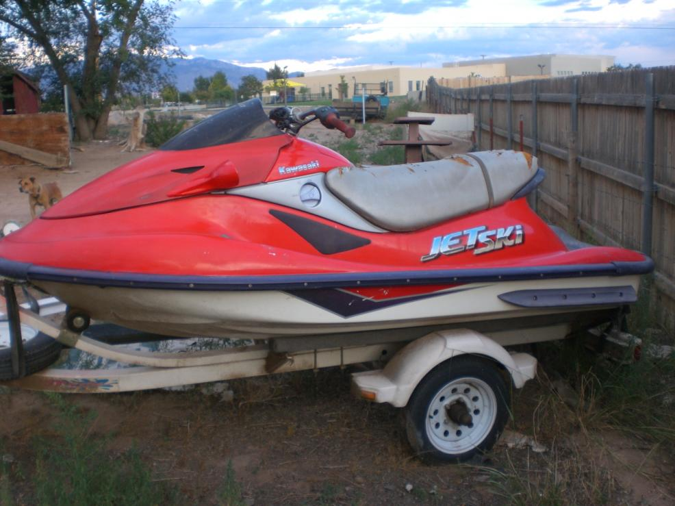 The Trailer In Pictures Is NOT For Sale This Jet Ski Being Sold As A Non Running Condition With NO Warranty Expressed Or Implied