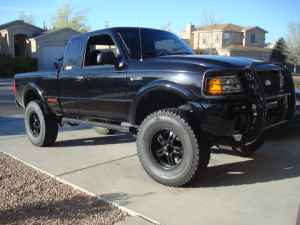 For Sale 6 Lifted 2003 4x4 Ford Ranger Edge Black