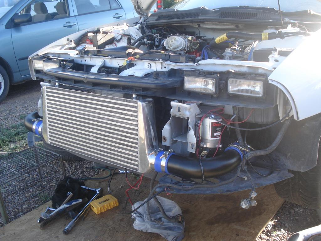 Here are some progress pics of my lt1 turbo build
