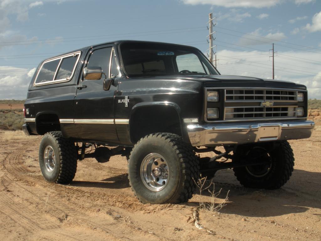 86 K5 Blazer 4x4 Lifted Truestreetcars Com