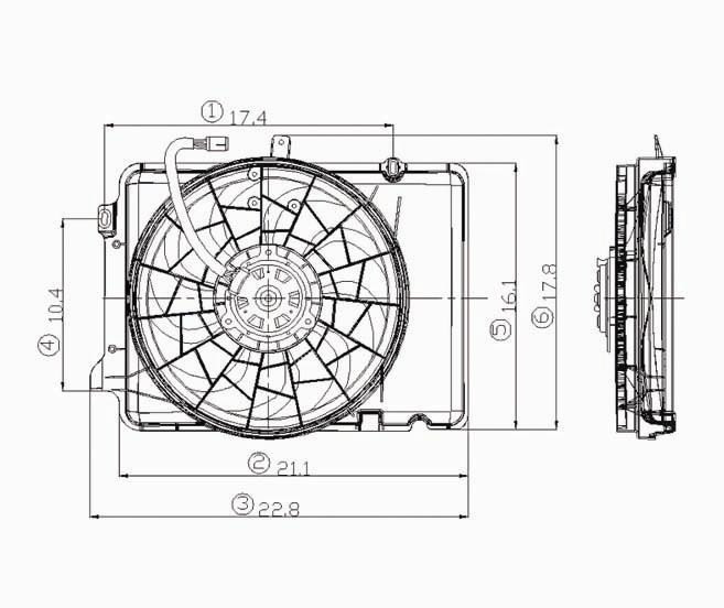 32662d1340728463 anyone runnning one these electric fans fo3115114 need help on picking an electric fan!! page 2 vintage mustang ford contour electric fan wiring diagram at honlapkeszites.co