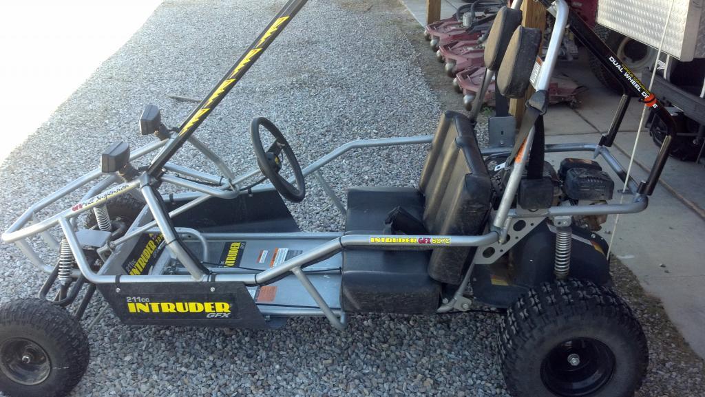 For Sale* Go Kart   2 seater - TrueStreetCars com
