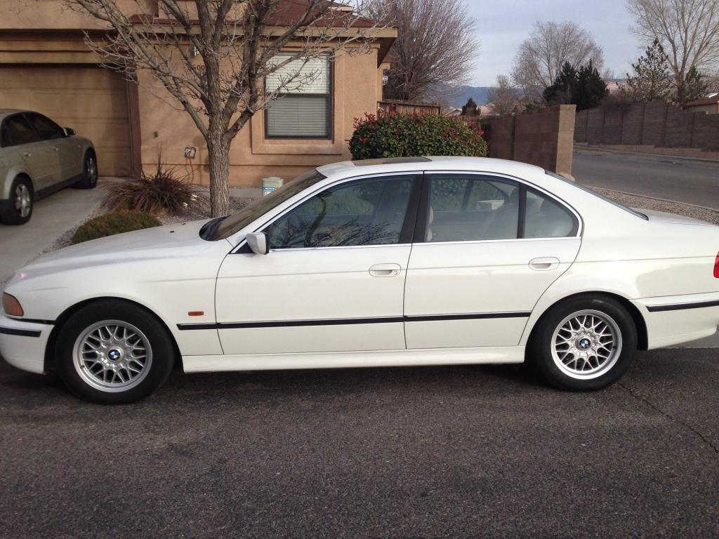 2000 bmw 528i e39 it s white with tan interior and wood accenting it s auto with 155 000 miles it needs a water pump i m asking 3000