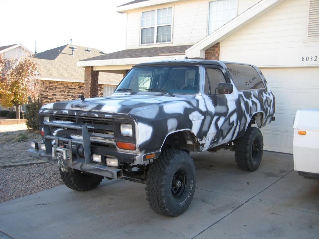 For Sale* '88 Dodge Ramcharger - TrueStreetCars.com