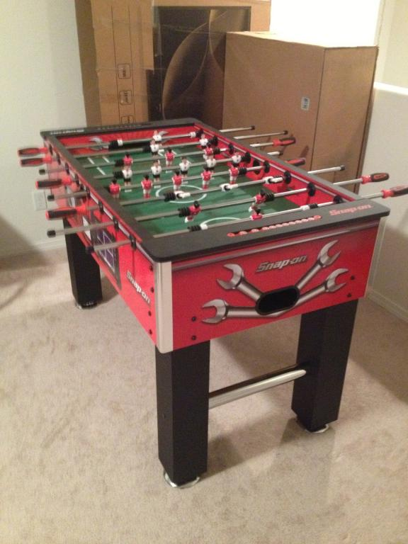i have a snap on foosball table for sale 400 - Foosball Table For Sale