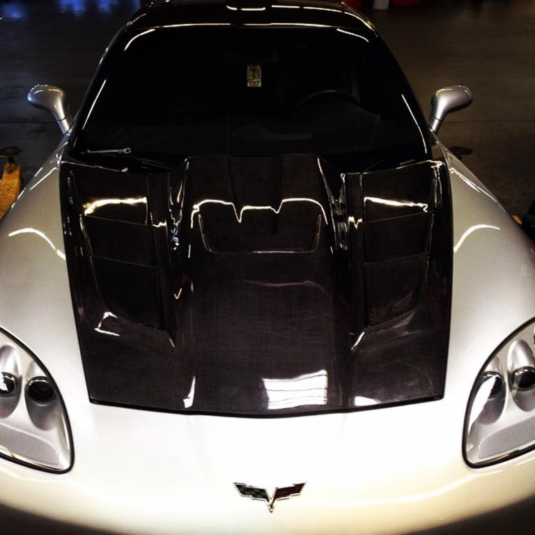 For Sale* Feeler: CF C6 Corvette hood  - TrueStreetCars com