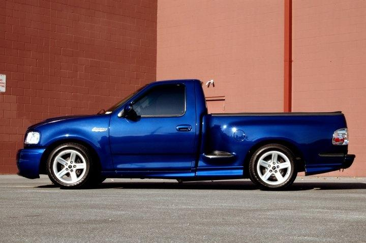 Ford Lightning 2004 Sonic Blue