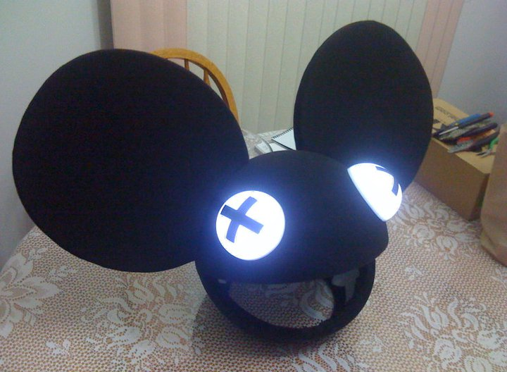 my deadmau5 head build whats your costume truestreetcarscom - Deadmau5 Halloween Head