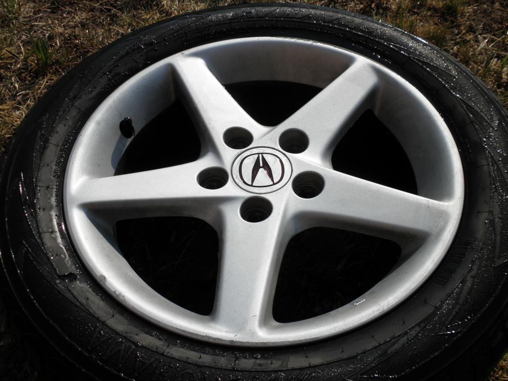 For Sale Acura Rsx Rims With Crap Tires TrueStreetCarscom - Acura rsx rims