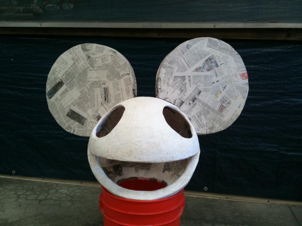 my deadmau5 head build whats your costume - Deadmau5 Halloween Head