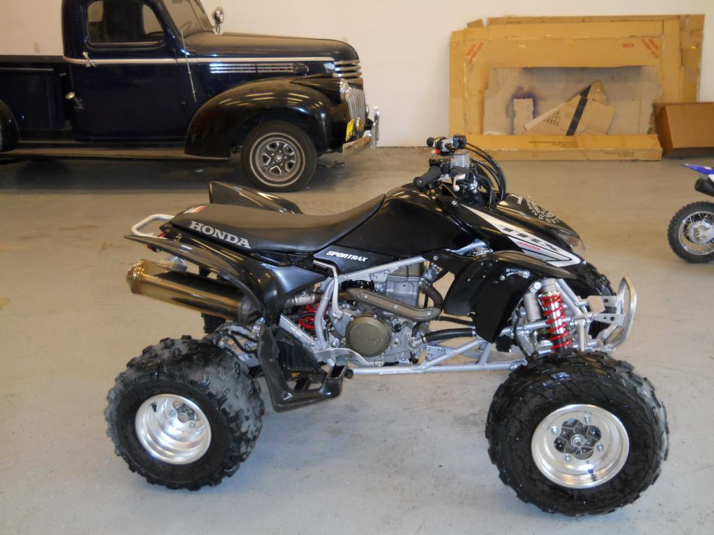 For Sale 05 Honda Trx450r Quad Ridden Twice Truestreetcars Com
