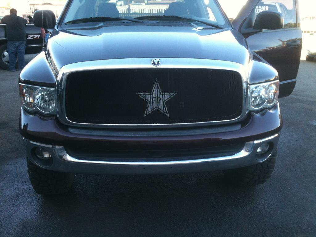 Rockstar grille for customer